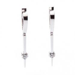 Pendant Earrings with Diamond model nr. 0003