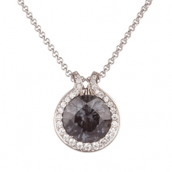 Pendant with Black Spinel model nr. 0207