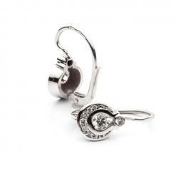 Earrings with Diamonds model nr. 0002