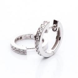Earrings with Diamonds model nr. 0007