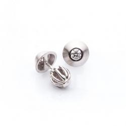 Earrings with Diamonds model nr. 0010