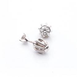 Earrings with Diamond model nr. 0025