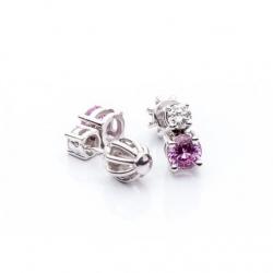 Pink Sapphire Earrings model nr. 0028