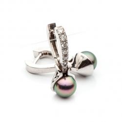 Earrings with Sea Pearl model nr. 0058