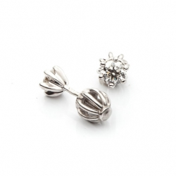White Gold Earrings with Diamonds model nr. 0068